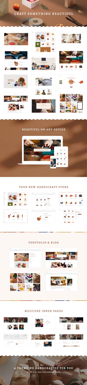 Krafti - Arts & Crafts WordPress Theme - 1